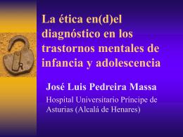 el diagnóstico en los trastornos mentales de infancia y adolescencia