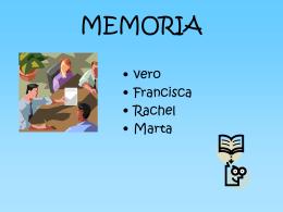 Sistema de la memoria - Art