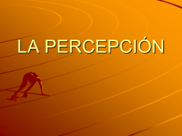 LA PERCEPCIÓN - HostIgnition