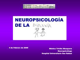 NEUROPSICOLOGÍA DE LA DISLEXIA