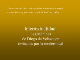 Intertextualidad - Instituto de Comunicación e Imagen