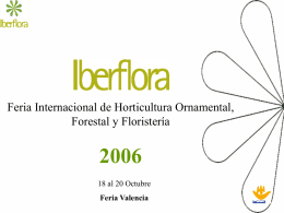 Feria Internacional de Horticultura Ornamental