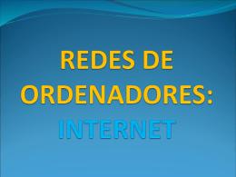 Internet 1: redes de ordenadores - ies jaime vera