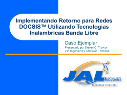 Descargar documento - Andina Link Virtual, la industria del cable y