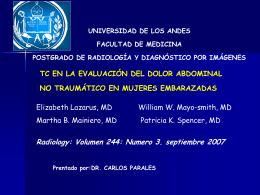 Resultados - Universidad de Los Andes