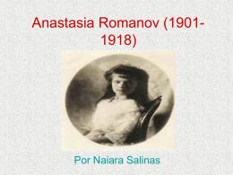 Anastasia Romanov (1901
