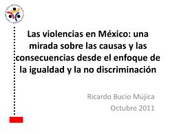 Ricardo Bucio (Presidente CONAPRED)