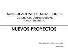 Problema - Municipalidad de Miraflores
