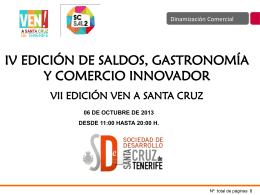 Presentación SC Sal2 - Santa Cruz de Tenerife