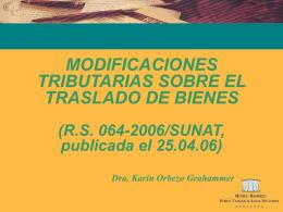 GUÍA DE REMISIÓN REMITENTE: TRASLADO ZONA PRIMARIA