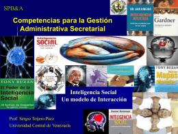 Inteligencia Social. Un modelo de interacción_Puerto