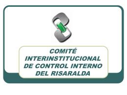 Presentación Cicir - Gobernación de Risaralda