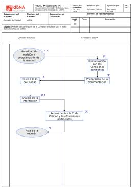 Anexo 8: Coordinación resto de comisiones