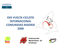 xxii vuelta ciclista internacional comunidad madrid