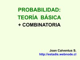 Probabilidad y Combinatoria