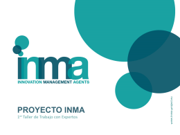 proyecto inma - ADAM - Leonardo da Vinci Projects and Products