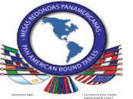 EDUCANDO PARA LA PAZ - mesa redonda panamericana de
