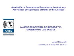 Jorge_Ottavianelli - Uruguay - Gestión Integral Riesgos