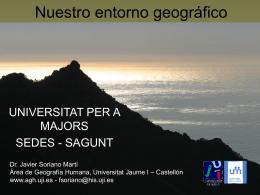 el entorno geográfico paisajes naturales y humanos