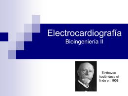 Presentación sobre ECG
