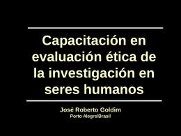 Goldim/2005 - Bioética