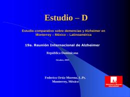 En perfecta Sintonía - Alzheimer Monterrey