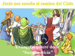 Jesús anuncia el Reino de Dios