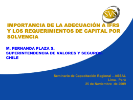 NIVEL REGULATORIO - Superintendencia de Banca y Seguros