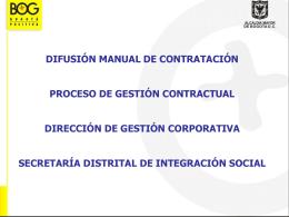 Difusión Manual de Contratación