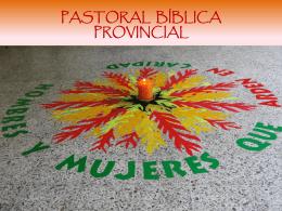 pastoral bíblica provincial col occ