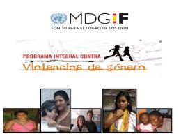 Estrategia Integral para la Prevención, Atención y Erradicación de