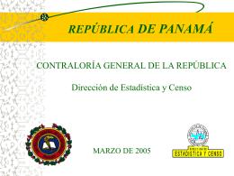 Presentación de PowerPoint - Instituto Nacional de Estadísticas