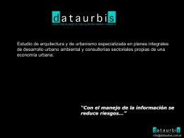 + info - DATAURBIS
