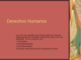 Derechos Humanos - Congreso de mujeres empresarias de