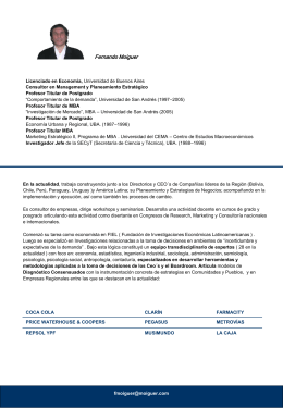 Diapositiva 1 - Universidad de San Andrés