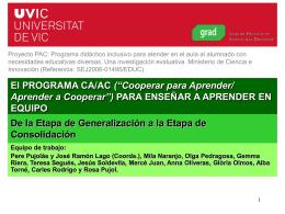 El PROGRAMA CA/AC