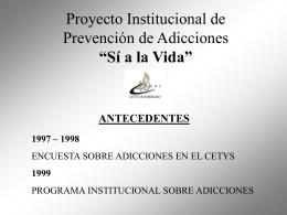 SI A LA VIDA - WASC