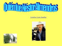 Quién fue Néstor Almendros - Aula Virtual del CEP de Castilleja