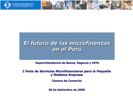 Diapositiva 1 - Cámara de Comercio de Lima