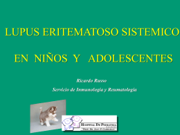 lupus eritematoso sistémico juvenil