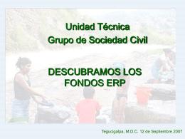 Unidad Técnica Grupo de la Sociedad Civil