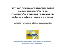 Red Latinoamericana y caribeña por la defensa de los