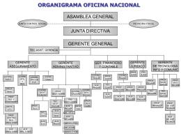 organigrama oficina nacional