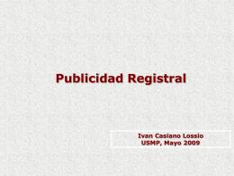 Oficina Registral