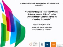 Presentación - Centro Médico de Mar del Plata