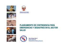23 Planeamiento Contingencia Emergencias