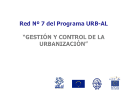 Red Nº 7 del Programa URB-AL - Centro de Documentación del