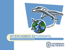 intercambio estudiantil