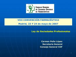 OFICINAS DE FARMACIA COLEGIOS