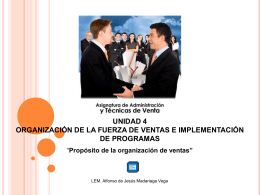 organización lineal y cuerpo administrativo